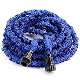 Greenmall 50FT Expandable Garden Water Hose With 7 Functions Sprayer-Blue (50FT)