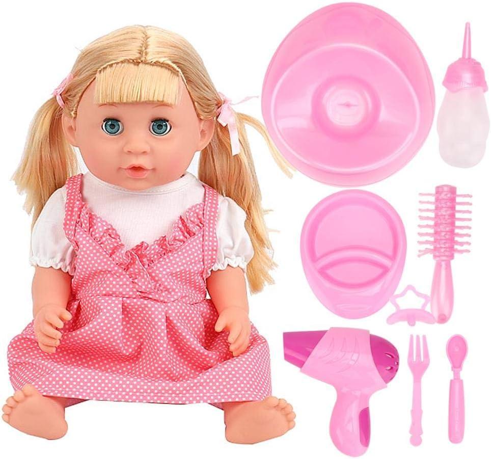 Kinderen pop speelgoed, zeer simulatie elektrische pop speelgoed, babypop speelgoed, leuke jongens meisjes voor(SY011-4 color box version) SY011-4 color box version