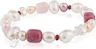 TOUS Pearls - Pulsera de Plata de Primera Ley con Perlas -