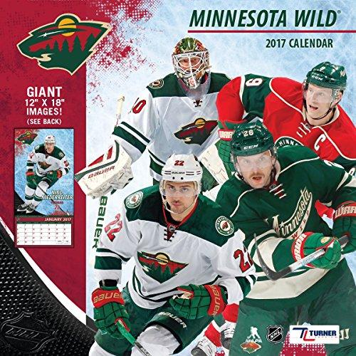 "Turner Licensing Sport 2017 Minnesota Wild Team Wall Calendar, 12""X12"" (17998011944)"