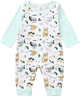 Manlee BAT Pug Newborn Infant Toddler Baby Girls Boys Bodysuit Short Sleeve 0-24 MonthsBlack 6M