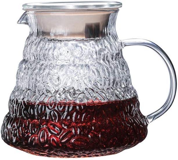 SXXYTCWL Arlington Mall Coffee Pot Max 53% OFF High Sharing T Borosilicate Glass