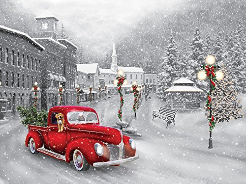 Holiday Ride Jigsaw Puzzle 550 Piece