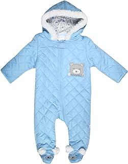 Duck Duck Goose Newborn Baby Boys & Girls Quilted Pram Snowsuit