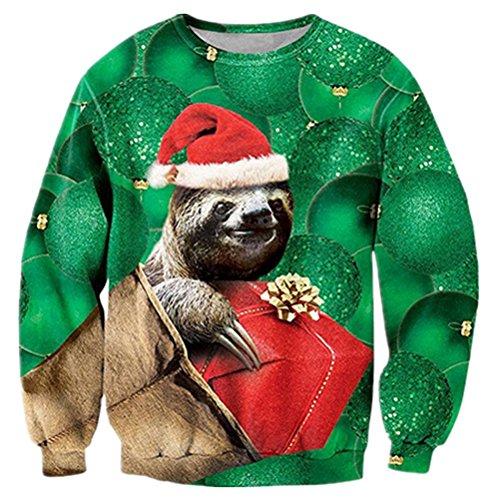 Sloth Ugly Christmas Sweater