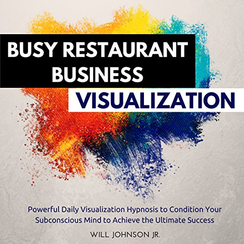 Busy Restaurant Business Visualization audiobook cover art