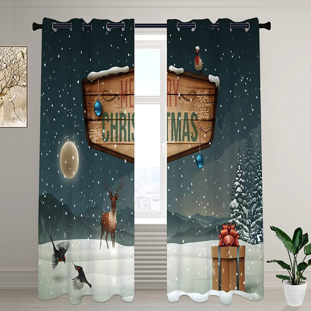 LilyCat Decorative Blackout Room Inexpensive Curtains Max 62% OFF and Darkening Bedroom