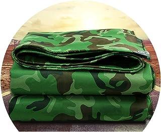 Plane Gewebeplane Gartenmöbel Abdeckung Tarp Sheet Regenschutzhülle mit Ösen Garten Möbel Hutch Trampolin Auto Camping Gartenarbeit ALGFree (Color : Green, Size : 5.7x7.7m)