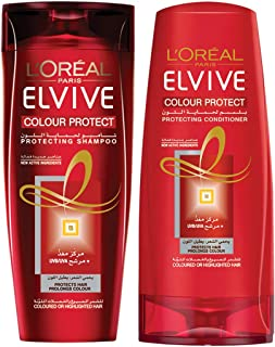 L'Oréal Elvive Color Protect Conditioner 400 ml and Shampoo 200 ml