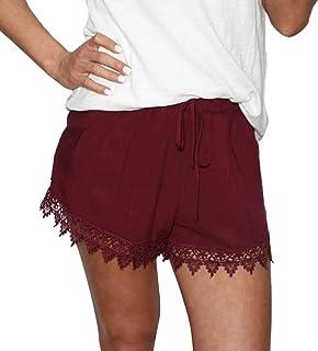 8177ca8f4fb7 Amazon.es: pantalon anchos mujer - Pantalones cortos / Mujer: Ropa