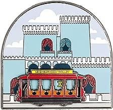 Little Shop of Pins Mister Rogers' Neighborhood King Friday the XIII Castle with Sliding Neighborhood Trolley Enamel Pin