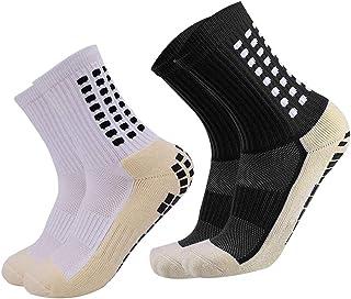 Unisex Socks,Crew Casual No Slip Sock for Adult Men Women for Sport Hospital Use Traveling Outside Activity