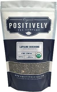 Positively Tea Company, Organic Lapsang Souchong, Black Tea, Loose Leaf, USDA Organic, 1 Pound Bag