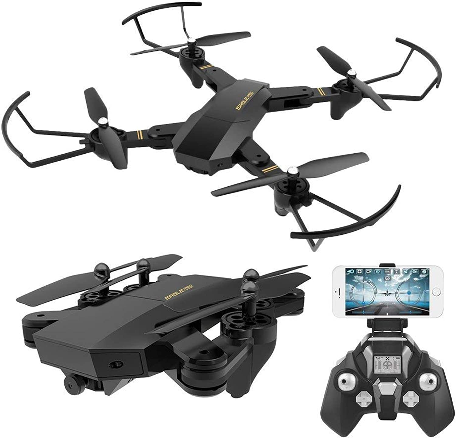 RC Quadcopter with 2.4GHz 6Axis Gyro Altitude Hold Function and 720P HD 2MP Camera Helicopter