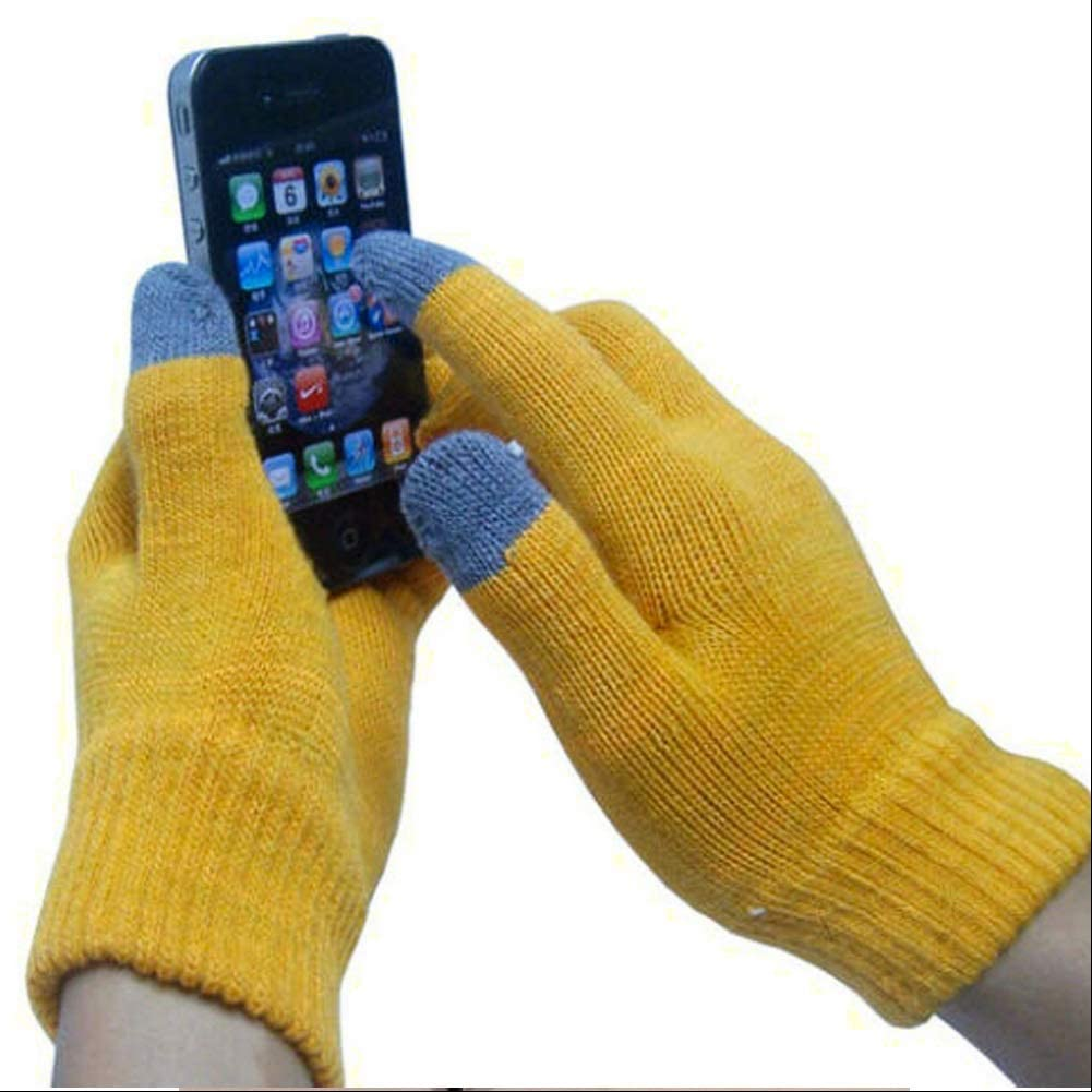 Hypeshops Magic Touch Screen Gloves Smartphone Texting Winter Knit Warm Mitts