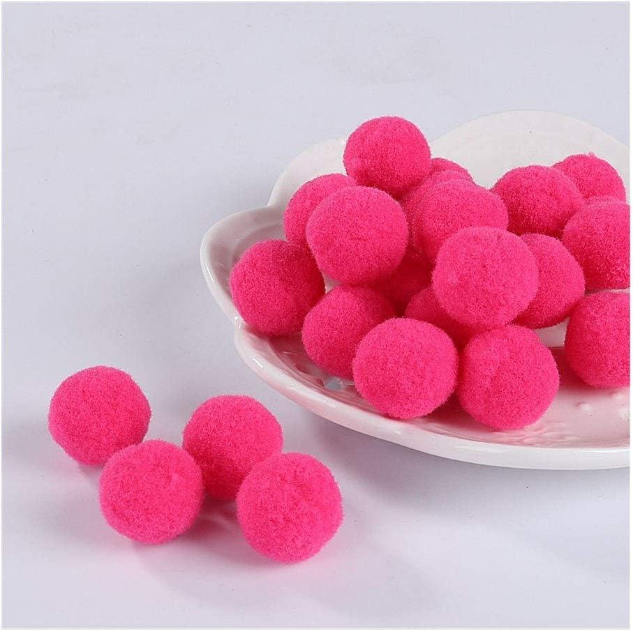 HONGTAI Pompom Soft Latest item Free shipping on posting reviews Pompones Fluffy Plush Pom Poms Ball Crafts F