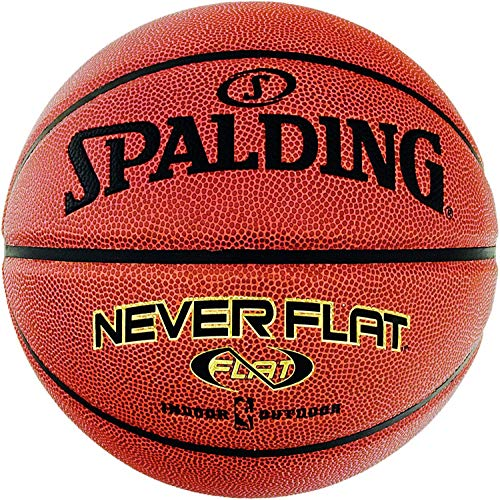 Spalding NBA Neverflat In/Out Basketball (7, orange)
