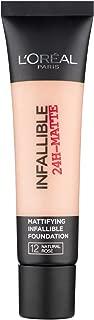 L'Oreal Paris Infallible 24H Matte Foundation 12 Natural Rose, 35ml