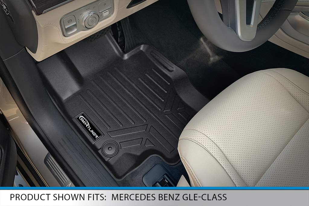 Nylon Carpet Black Coverking Custom Fit Front Floor Mats for Select GMC Yukon Models