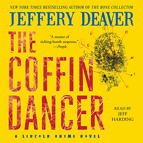 The Coffin Dancer     A Novel              By:                                                                                                                                 Jeffery Deaver                               Narrated by:                                                                                                                                 Jeff Harding                      Length: 13 hrs and 31 mins     400 ratings     Overall 4.4