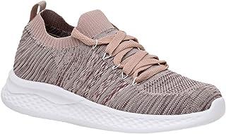 Women's Drew Stretch Knit lace up Sneaker +Memory Foam &...
