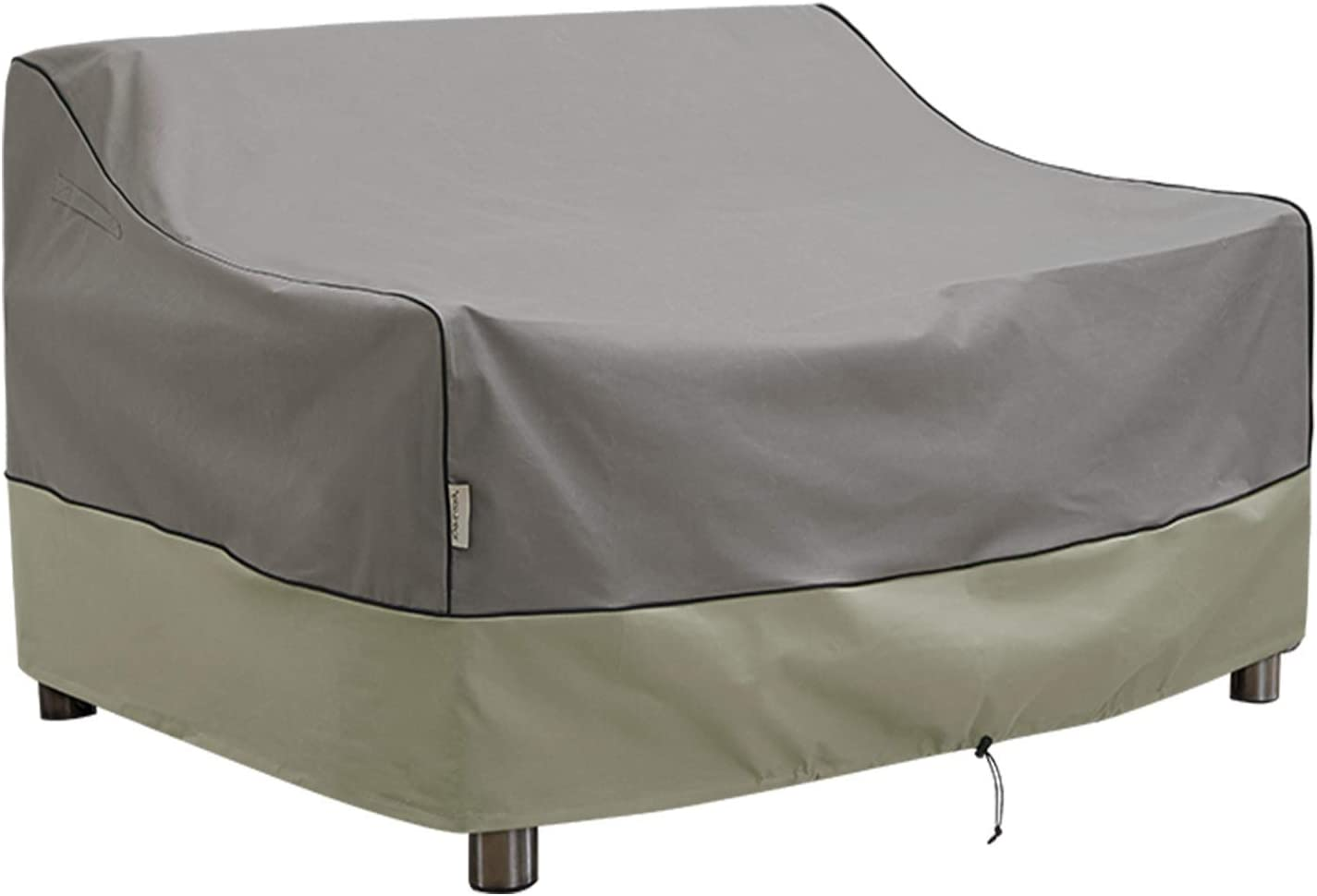 KylinLucky Outdoor Furniture Covers Waterproof, 3-Seater Patio Sofa Cover Fits up to 66 x 36 x 30 inches