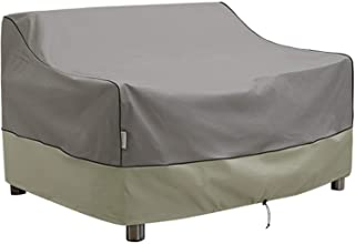 Kylinlucky Outdoor Furniture Covers Waterproof, Heavy Duty Bench Loveseat Cover - Patio Sofa Covers Fits up to 58 x 32.5 x...