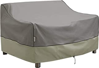 Kylinlucky Outdoor Furniture Covers Waterproof, Heavy Duty Bench Loveseat Cover - Patio Sofa Covers Fits up to 58W x 32.5D...