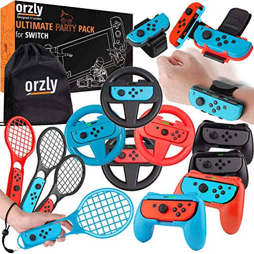 Complementos Nintendo Switch Marca Orzly