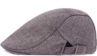 2019 Women Tartan Peaked Cap for Unisex Warm Woolen Adjustable Flat CapDuckbill Newsboy Gatsby Irish Hat 55-60cm (Color : 1, Size : Free Size)