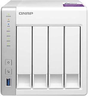 QNAP(キューナップ) TS-431P 専用OS QTS搭載 デュアルコア1.7GHz CPU 1GBメモリ 4ベイ ホーム&SOHO向け スナップショット機能対応 NAS 【日本正規流通品】