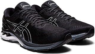 ASICS Men's Gel-Kayano 27 Running Shoe, Black/Pure Silver - 8.5