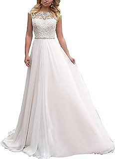 YASIOU Hochzeitskleid Damen Kurz A Linie Wei/ß Satin Glitzer Herzausschnitt Tr/ägerlos Brautkleider