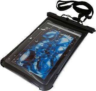 Kindle / Fire / iPad mini / Nexus 7 等対応 タブレット防水ケース (6-7インチ用) ブラック  お風呂でも
