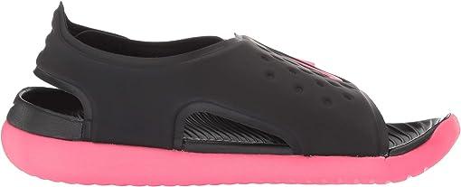 Black/Racer Pink/White