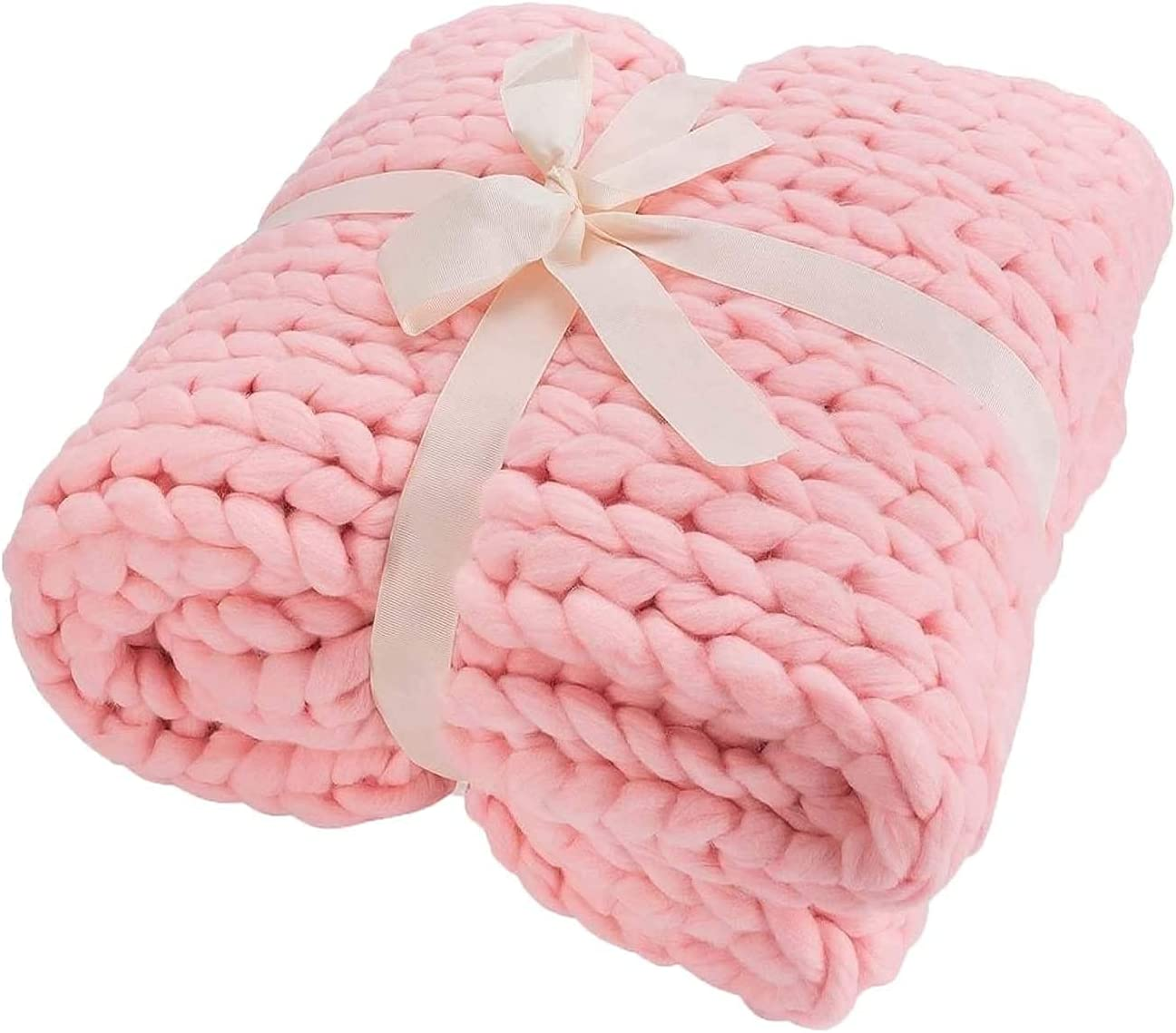 TDMYCS Ultra Soft Throw Attention brand Knit Accent Blanket Opening large release sale Chunky