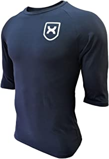 GYMCROSS (ジムクロス)【PERFORMANCE】トレーニング フィットネスウェア Tシャツ 5分袖 7分袖ストレッチ【メンズ】gc-062