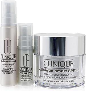 Clinique Skincare Specialists Clinique Smart Custom-Repair Set: Moisturizer SPF 15 50ml + Serum 10ml + Eye Treatment 5ml 3pcs