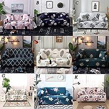 CHOUREN 1/2/3/4 Seats Sofa Cover Universal Slip Resistant Slipcover Fabric L-shaped Universal Sofa Case Slipcover Elastic ...