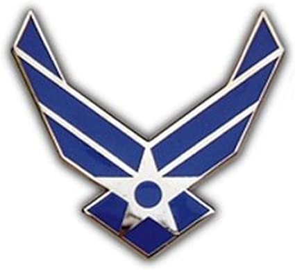 Air Force Logo Small Pin : Amazon.ca: Clothing, Shoes & Accessories