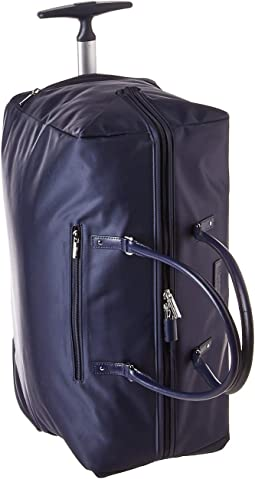 80a9faeb3 Lipault paris lady plume wheeled weekend bag duck blue | Shipped ...