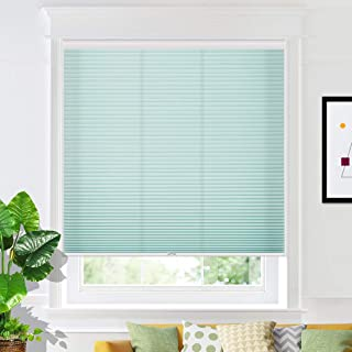 Keego Window Shades Cordless Cellular Blinds Custom Made Light Filtering Window Blinds and Shades Honeycomb Blinds for Win...