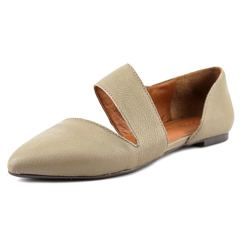 セマフォインサート師匠Lucky Brand Womens Madysonn Leather Ballet Flats