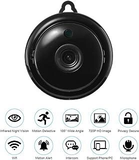 Mini IP Camera Wireless Wifi Home Security Smart Phone APP 720p HD Video Cam Night Vision Motion Detection Alarm Onvif Monitor