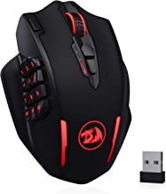 Redragon M913 Impact Elite Wireless Gaming Mouse, 16000 DPI Wired/Wireless RGB Gamer Mouse with 16 Programmable Buttons, 4...