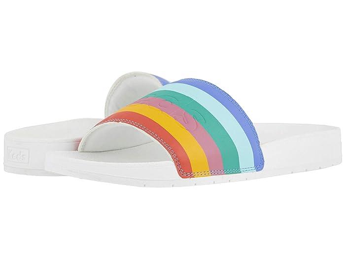 Vintage Sandals | Wedges, Espadrilles – 30s, 40s, 50s, 60s, 70s Keds Bliss II Rainbow Multi Womens Shoes $27.99 AT vintagedancer.com