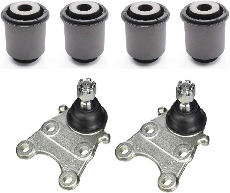 Front Lower Control Arm Bushing + Mail order Joint Isuzu 2012-2019 Ball Cheap For