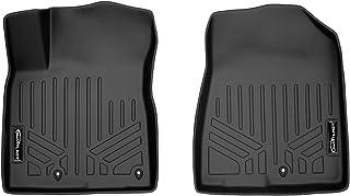 SMARTLINER Custom Fit Floor Mats 1st Row Liner Set Black for 2017-2021 Kia NIRO