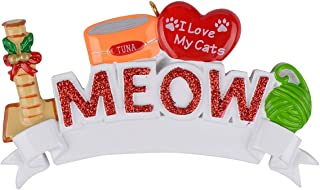 Best personalized ornaments with cats Reviews