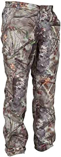 Image of LXYFMS Camouflage Trousers Hunting Photography Sports Mountaineering Slim Pants Windproof Waterproof Warm Wear Outdoor Jungle Invisible Training Pants Camouflage Suit (Size : XL)